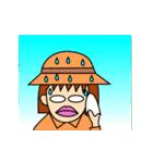 【使えない】炸裂!動く!ぶさかわ女子99% 4(個別スタンプ:03)