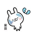 【柴田】専用名前ウサギ(個別スタンプ:28)