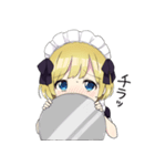 幼女すたんぷ8(金髪幼女メイド)(個別スタンプ:09)