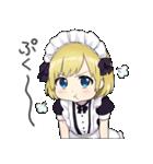 幼女すたんぷ8(金髪幼女メイド)(個別スタンプ:26)
