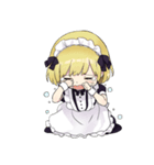 幼女すたんぷ8(金髪幼女メイド)(個別スタンプ:34)