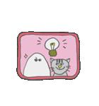 メジェドさまとネコさん(個別スタンプ:40)