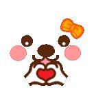 メッセージと顔![ラブxラブ!LOVE](個別スタンプ:07)
