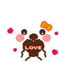 メッセージと顔![ラブxラブ!LOVE](個別スタンプ:10)