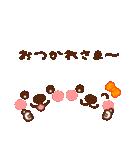 メッセージと顔![ラブxラブ!LOVE](個別スタンプ:13)