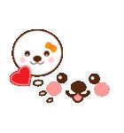 メッセージと顔![ラブxラブ!LOVE](個別スタンプ:16)