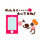 メッセージと顔![ラブxラブ!LOVE](個別スタンプ:28)
