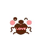 メッセージと顔![ラブxラブ!LOVE](個別スタンプ:35)
