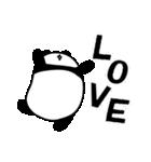 パンダと白いハムスター2(ラブラブ編)(個別スタンプ:21)