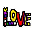 LOVELOVE バレンタイン(個別スタンプ:32)