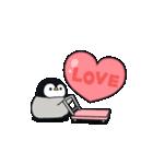 うごく♪心くばりペンギン ラブver.(個別スタンプ:01)