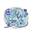 かわいいデカ文字シンプル言葉(個別スタンプ:15)