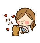かわいい主婦の1日【ラブラブ編2】(個別スタンプ:07)