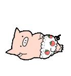 苺パンツぶた(個別スタンプ:05)