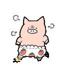 苺パンツぶた(個別スタンプ:07)