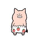 苺パンツぶた(個別スタンプ:10)