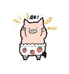 苺パンツぶた(個別スタンプ:13)