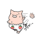 苺パンツぶた(個別スタンプ:18)
