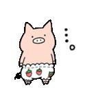 苺パンツぶた(個別スタンプ:21)