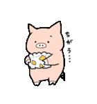 苺パンツぶた(個別スタンプ:34)