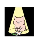 苺パンツぶた(個別スタンプ:36)