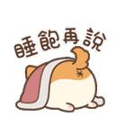 アワ柴犬の日常-クリスマスと新年の特別篇(個別スタンプ:6)
