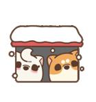 アワ柴犬の日常-クリスマスと新年の特別篇(個別スタンプ:26)