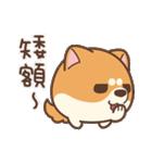 アワ柴犬の日常-クリスマスと新年の特別篇(個別スタンプ:33)
