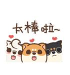 アワ柴犬の日常-クリスマスと新年の特別篇(個別スタンプ:36)