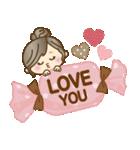 ナチュラルガール♥【思いやり♥愛情】(個別スタンプ:18)