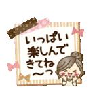 ナチュラルガール♥【思いやり♥愛情】(個別スタンプ:28)