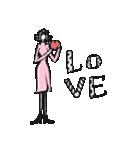 Woman R LOVE【英語 English】(個別スタンプ:03)