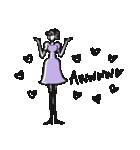 Woman R LOVE【英語 English】(個別スタンプ:17)