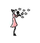Woman R LOVE【英語 English】(個別スタンプ:19)