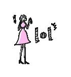 Woman R LOVE【英語 English】(個別スタンプ:23)