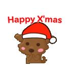 ルー : ハッピークリスマス(個別スタンプ:1)