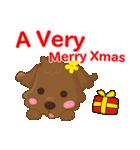 ルー : ハッピークリスマス(個別スタンプ:8)