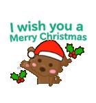 ルー : ハッピークリスマス(個別スタンプ:9)