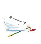 Enjoy Water Skiing(個別スタンプ:11)