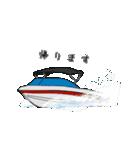 Enjoy Water Skiing(個別スタンプ:18)