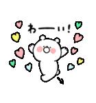**ガーリーくまさん(LOVE)**(個別スタンプ:24)