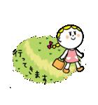 三つ編みリボンの女の子(個別スタンプ:27)