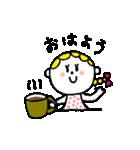 三つ編みリボンの女の子(個別スタンプ:39)
