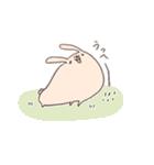 ゆるゆるウサギ《はる風味》(個別スタンプ:18)