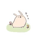 ゆるゆるウサギ《はる風味》(個別スタンプ:19)