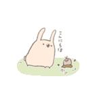 ゆるゆるウサギ《はる風味》(個別スタンプ:20)