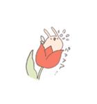 ゆるゆるウサギ《はる風味》(個別スタンプ:23)