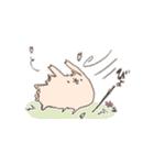 ゆるゆるウサギ《はる風味》(個別スタンプ:25)