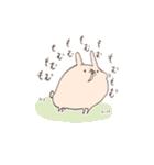 ゆるゆるウサギ《はる風味》(個別スタンプ:26)