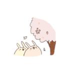 ゆるゆるウサギ《はる風味》(個別スタンプ:27)